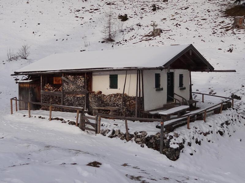 Zinnenberg: Geigelsteingebiet: Blick von der Brandelbergalm über das Priental ins Geigelsteingebiet.
